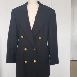 Philippe Adec black blazer size 10